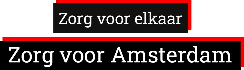 Zorg voor Amsterdam logo